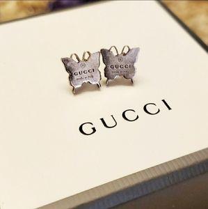 Gucci Trademark Butterfly Earrings